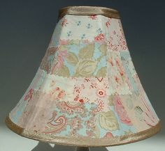 Patchwork lamp shade