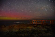 My first time photographing the amazing aurora australis which was visible last night on the Southern Ocean horizon off the coast of #warrnambool  #destinationwarrnambool #live3280 #auroraaustralis #southernlights #southernocean #longexposure #astrophotography #seeaustralia #visitvictoria #landscape_lovers #landscape_captures #nightscape #jaw_dropping_shots #natgeo #nature_perfection by heath.butler.wildlife