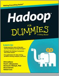 """""""Hadoop For Dummies -- Free Sample Chapter""""  Let Hadoop For Dummies help harness the power of your data and rein in the information overload"""