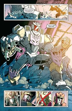 "mr-t40: "" The Decepticon Justice Division (DJD) was first introduced in the Transformers More Than Meets the Eyes issue #7 Rules of Disengagement. However they were first mentioned in the Last Stand..."