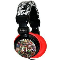 iHip MVF10264RT Marvel Retro Extreme DJ Headphone, Red/Black, Amazon Gold Box Deal through 2/26/2012, (list price: $34.99) Deal Price: $14.99.