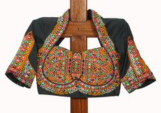 Black Kutch Work Blouse Design 18 – Desically Ethnic