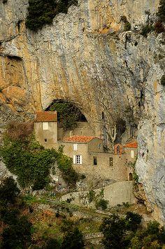 Galamus Pyrénées Orientales, France