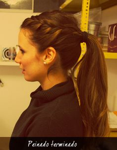 different pony tail Back To School Hairstyles, Easy Hairstyles, Interview Hairstyles, Cabello Hair, Hair Heaven, Hair Color And Cut, Hair Designs, Prom Hair, Hair Looks