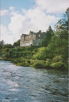 Ballynahinch Castle in Ireland