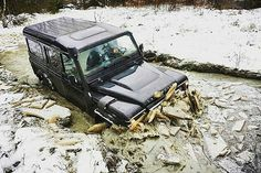 """Go to #Russia if you want to test your #Landrover #Defender 110"""" SW"""