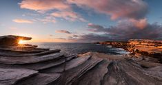 A panoramic seascape with the starburst effect in Australia [OC][OS][2046x1080] @antongorlin