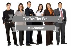 Here are our top tax tips for milennials!