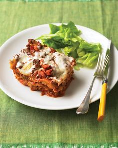 Slow-Cooker Sausage Lasagna from Martha Stewart
