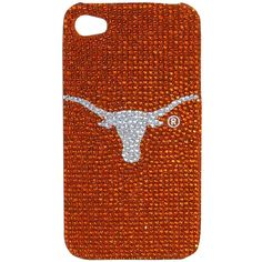 Texas Longhorns Glitz Cell Phone Case for iPhone 4 and iPhone 4S