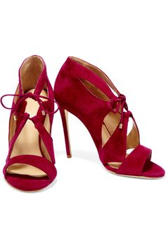 Shop on-sale Chelsea Paris Hakan cutout suede sandals . Browse other discount designer Pumps & more on The Most Fashionable Fashion Outlet, THE OUTNET.COM