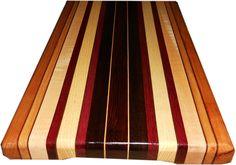 Custom Made Exotic Wood Cutting Board