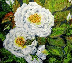 GALERIA PALOMO MARIA LUISA: FLORECIDA.. Painting, Art, Painted Flowers, Sky, Art Background, Painting Art, Kunst, Paintings, Performing Arts