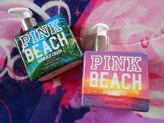 vs pink beach I got these! love them :D