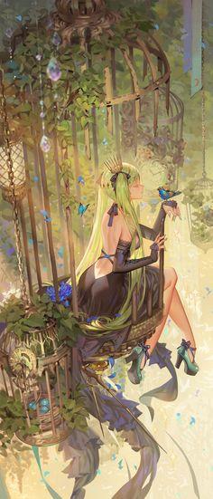 #20161212 World is Mine, Ra Lilium on ArtStation at https://www.artstation.com/artwork/xKA9Y