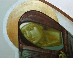 Ivanka Demchuk: From Icons to Abstract Art – joy of Byzantine Icons, Byzantine Art, Religious Icons, Religious Art, Mary And Jesus, Ukrainian Art, Catholic Art, Orthodox Icons, Naive Art