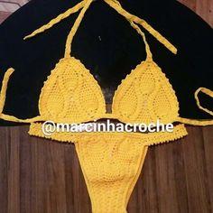 Mais e mais biquínis de crochê confeccionados por mim, contato:whatsapp 21-984646553