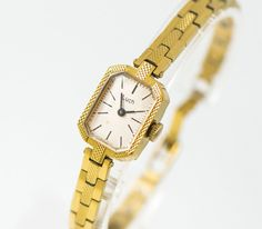 Gold plated women's watch bracelet  cocktail watch for by 4Rooms