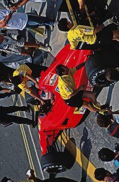 Nigel Mansell, Alain Prost, Formula 1 Car, Ferrari F1, Indy Cars, Interesting History, F 1, First World, Race Cars