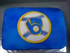 Milwaukee Brewers Cake