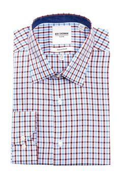 Ben Sherman Plaid Button Front Shirt by Ben Sherman on @nordstrom_rack
