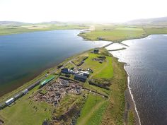 Ness of Brodgar | Orkney Island, Scotland, U.K. | Neolithic complex at the site that is at least 5,000 years old.  | from Excavation Director Nick Card via Cornish Archaeology