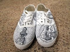 Artsy Urban Outfitters Custom Shoes by ASquaredSharpieShoes on ETSY  dedee2000