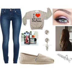 I Love Niall by livetosing98 on Polyvore