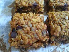 PUMPKIN!  No nuts granola bars FROM www.Mamacado.com