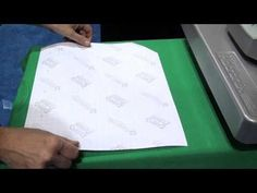 Create custom T-shirts - 4 Colors in 4 seconds with custom screen printed transfers and a heat press from TransferExpress.com