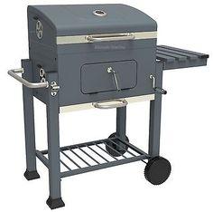 BBQ Smoker Holzkohle Grillwagen Barbecue Grill Standgrill Holzkohlegrill NEUWARE in Garten & Terrasse,Grills, Öfen & Heizstrahler,Grills | eBay