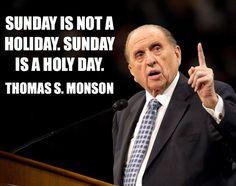 Honor the sabbath.