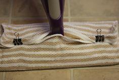 DIY washable swiffer mop pad