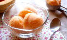 Recette : Sorbet express au melon par Pretty Chef.fr