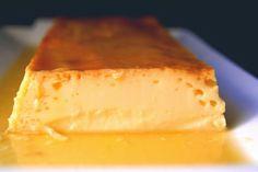 Flan de nata (crema de leche)