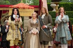 A Little Chaos - the lace cuffs in this movie are stellar!