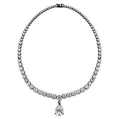 Victorian Cubic Zirconia Necklace