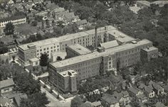 Sheboygan WI St. Nicholas Hospital and Anna M. Reiss Home for Aged
