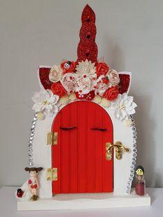 Fairy Garden Doors, Fairy Doors, Fairy Gardens, Gnome Door, Elf Door, Fairy Crafts, Small Doors, Forest Friends, Xmas