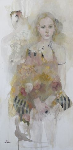 Francoise de Felice, I have learned from her website ~ despite my tenuous grasp on the French language ~ is half French, half Italian, and lives in Paris. Her impossibly romantic name and heritage are reflected in her ethereal paintings. I don't often feature portrait work in my Love It posts, but I recently signed …