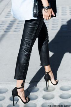 Top Leather Trousers