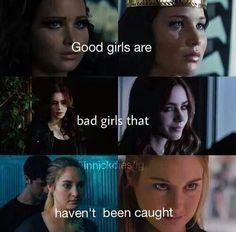 Fandoms | Girl Power | Katniss Everdeen | Los Juegos del Hambre | Clary Fray | Cazadores de Sombras | Tris Prior | Divergente
