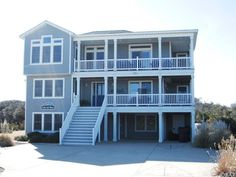 129 Ocean Boulevard Southern Shores, NC. Welcome to Cielo Del Mare! This stunning custom semi-oceanfront has everything the family could ask for. This magnificent second home boasts over 3,400 sq. ft. and is pristine in appearance and condition. The owners have been meticulous with maintenance and upkeep. The property has been used a second home retreat and has only been rented to family and close friends by the owner on a selective basis.