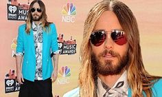Still in character! Dallas Buyers Club star Jared Leto wears skirt to iHeartRadio Awards