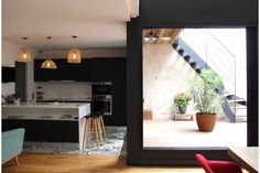 Réalisé par l'agence d'architecture FORT & SALIER Rénovation appartement Retrouver la fiche sur Archidvisor