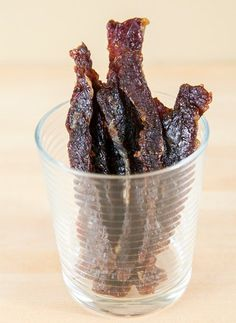 Spicy Teriyaki Beef Jerky | 15 Jerky Recipes To Get Your Chew On | https://homemaderecipes.com/15-homemade-jerky-recipes/