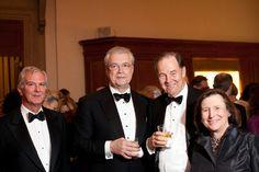 William Spears, William McGuire, The Honorable Thomas Keane, Ellen Futter. Mundinger Gala 2009