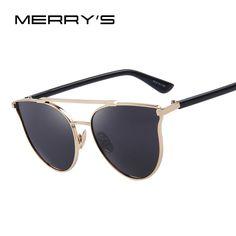 $21.35 (Buy here: https://alitems.com/g/1e8d114494ebda23ff8b16525dc3e8/?i=5&ulp=https%3A%2F%2Fwww.aliexpress.com%2Fitem%2FMERRY-S-Fashion-Women-Cat-Eye-Sunglasses-Classic-Brand-Designer-Sun-Glasses-Double-Bridge-Shades-UV400%2F32653414297.html ) MERRY'S Fashion Women Cat Eye Sunglasses Classic Brand Designer Sun Glasses Double-Bridge Shades UV400 S'8092 for just $21.35