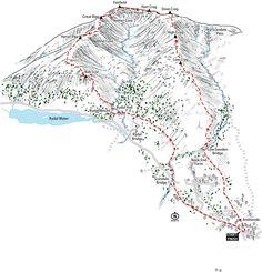 Fairfield Horseshoe walk, the perfect Christmas walk. my #etsy shop: Fairfield Horseshoe, line illustration of the classic Lake District walk. #art #print #lakedistrict #fairfieldhorseshoe #wainwrights #hiking