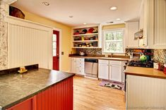 #Kitchen Idea of the Day: Mexican Style Kitchen with a lively color scheme.